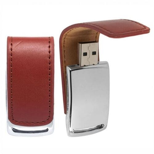 Pen Drive Couro New