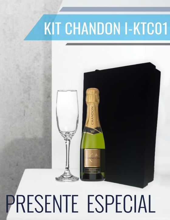 Kit Espumante Chandon® com Taça - I-KTE01
